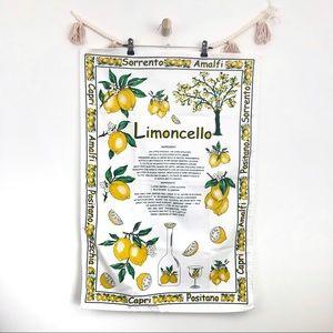 5/$25 Lemon Recipe Kitchen Wall Hanging Tapestry